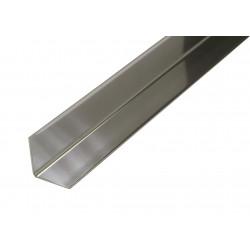 Ángulo 1mt. Aluminio 15x15mm. Blanco de Amig