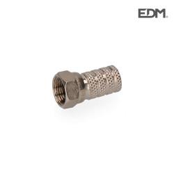 Conector parabolica metalico edm envasado