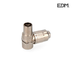 Base tv acodada metalica 9,5mm edm envasada