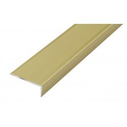 Ángulo Escalera 1mt. Alumino 40x15mm. Oro de Amig