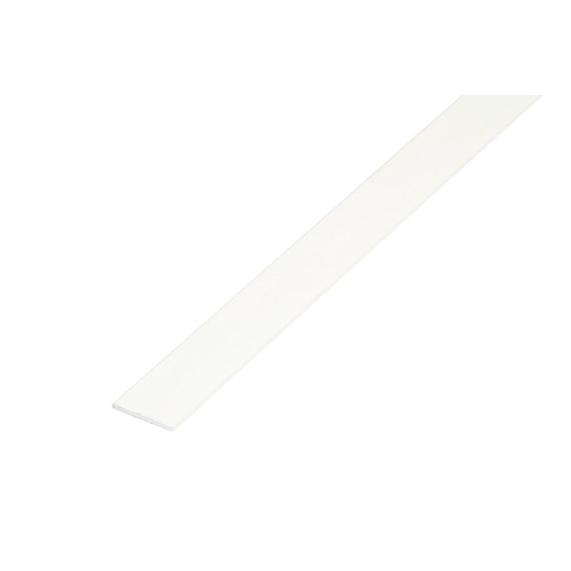 Pletina 1mt. Aluminio 30x3mm. Blanco de Amig