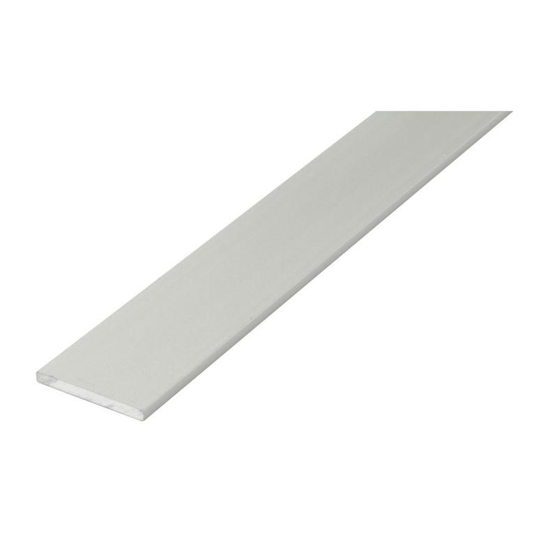 Pletina 1mt. Aluminio 30x3mm. Plata de Amig