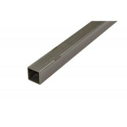 Tubo Cuadrado 2.5mt. Aluminio 16x16mm. Blanco de Amig