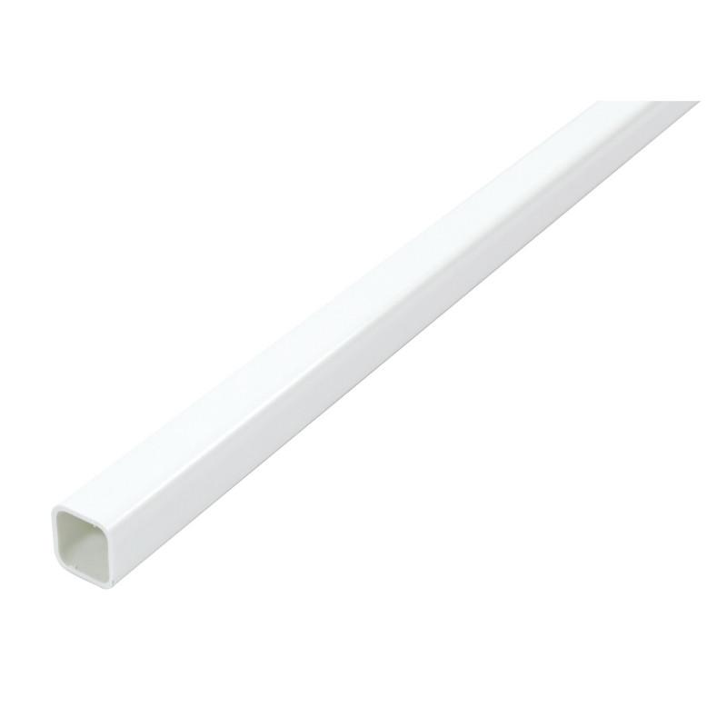 Tubo Cuadrado 1mt. Aluminio 20x20mm. Blanco de Amig