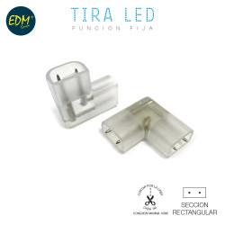 Conector (empalme) 90º para tira de led edm