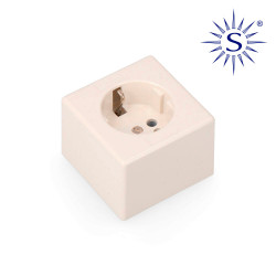 Base t/tl  porcelana superficie cuadrada 16a