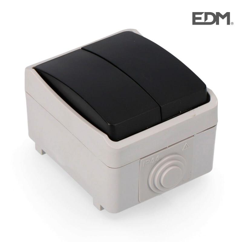 Doble conmutador estanco envasado edm
