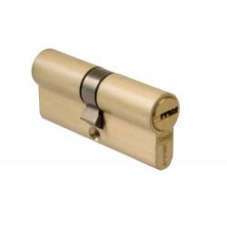 Bombillo Cilindro Misma Llave 25x35x10mm. Latón de Amig