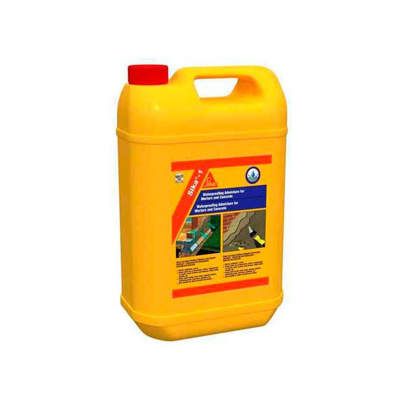 SIKA-1 Impermeabilizante líquido Amarillo 5Kg Sika