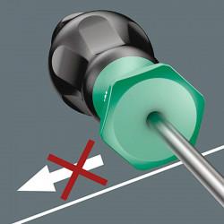 Destornillador para Tornillos Ranurados 0.8X4.0X100 mm Wera