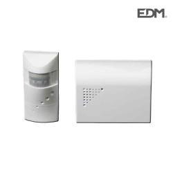 Alarma avisador de visitas (sensor emisor-receptor avisador)