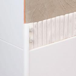 NOVOCANTO PVC MARMOL GRIS H: 12 MM 250 Emac