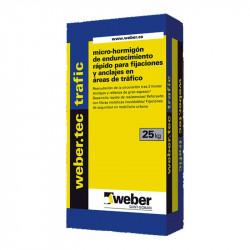 WeberTec Trafic 25Kg. Gris