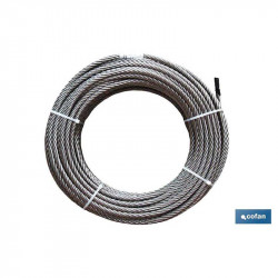 ROLLO CABLE GALVANIZADO 2MM 2MMX100MT