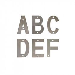 Letras Acero inoxidable 100 mm. Amig
