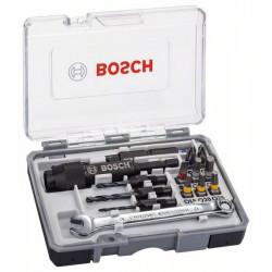 Juego de 20 puntas de destornillador Drill&Drive con llave HSS