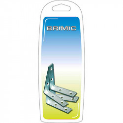 Ángulo Refuerzo 60x60mm Zincado Brimic