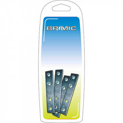 Placa Recta 40x15mm Zincado Brimic