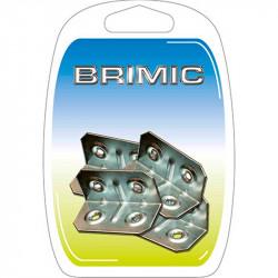 Ángulo Refuerzo 20x20x50mm Zincado Brimic