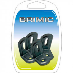Ángulo Fijación 38x28x23mm Zincado Brimic