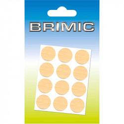Tapón Adhesivo Cabeza Tornillos 13mm Maple Brimic
