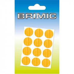 Tapón Adhesivo Cabeza Tornillos 17mm Pino Brimic