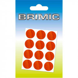 Tapón Adhesivo Cabeza Tornillos 17mm Sapelli Brimic