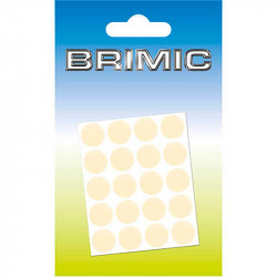 Tapón Adhesivo 13mm Crema Brimic