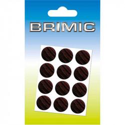 Tapón Adhesivo Cabeza Tornillos 25mm Wengué Brimic