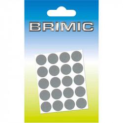 Tapón Adhesivo Cabeza Tornillos 25mm Gris Brimic
