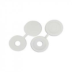 Tapón Plástico Tornillo 7mm Blanco Brimic
