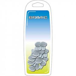 Lagrima Embutir 8,8x2,5mm Transparente Brimic