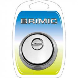 Escudo Seguridad 64mm Inox Brimic