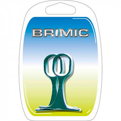 Soporte Central Oval 30x15mm Brimic