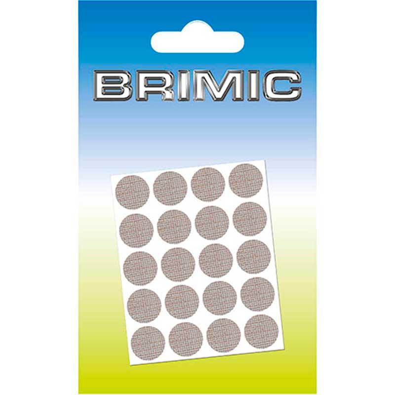 Tapón Adhesivo Cabeza Tornillos 13mm Textura Osc Brimic