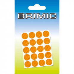 Tapón Adhesivo Cabeza Tornillos 100ud 13mm Roble Brimic