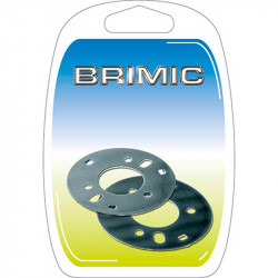 Blíster Escudo Tapa Pomo 60mm Níquel S Brimic