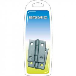 Bisagra Zincada 2 1-2 63x2mm Zincada Brimic