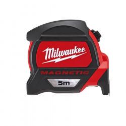 Flexómetro Magnético HQ 5metrosx27mm. Milwaukee