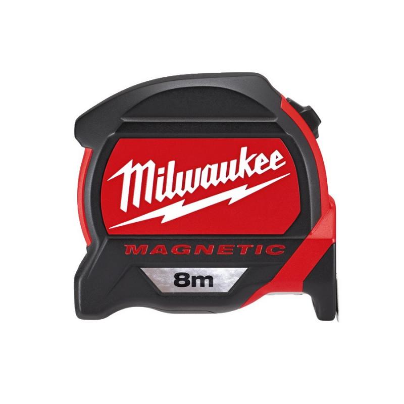 Flexómetro HQ magnético 8 Metrosx27mm. Milwaukee