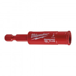 "Broca Diamond Plus™ para seco / húmedo 12mm. ¼"" Hex Milwaukee"