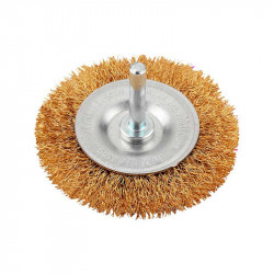 Cepillo Circular de alambre de Latón Fino 75mm Einhell