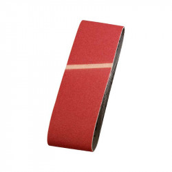 3 Bandas Abrasivas 75x533mm Grano 80  Einhell
