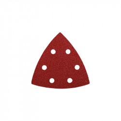 5 Abrasivos Triángulo 93mm Grano Surtido Einhell