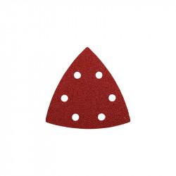 5 Abrasivos Triángulo 93mm Grano 80 Einhell
