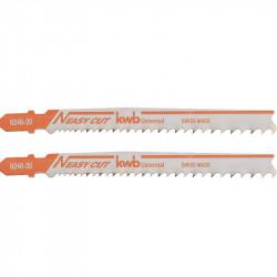 Blister 2 Hojas De Calar Bim Aluminio, Madera Y Metal 105Mm En T Einhell