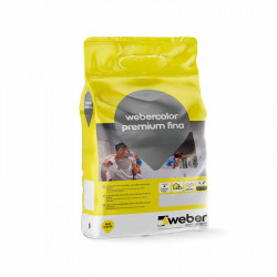 WeberColor Premium Fina 5Kg. Blanco