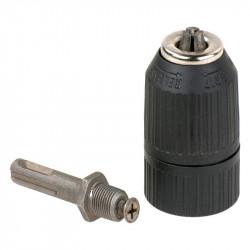 Portabroca Automatico Plastico 1,5-13Mm -1-2 Con Adaptador Sds+ Einhell