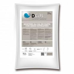 Mortero Extrafino De Cal EN Pasta 20 Kg Blanco Dcal