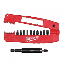 Estuche 12 piezas G1 Drive Guide Shockwave Impact Duty Milwaukee